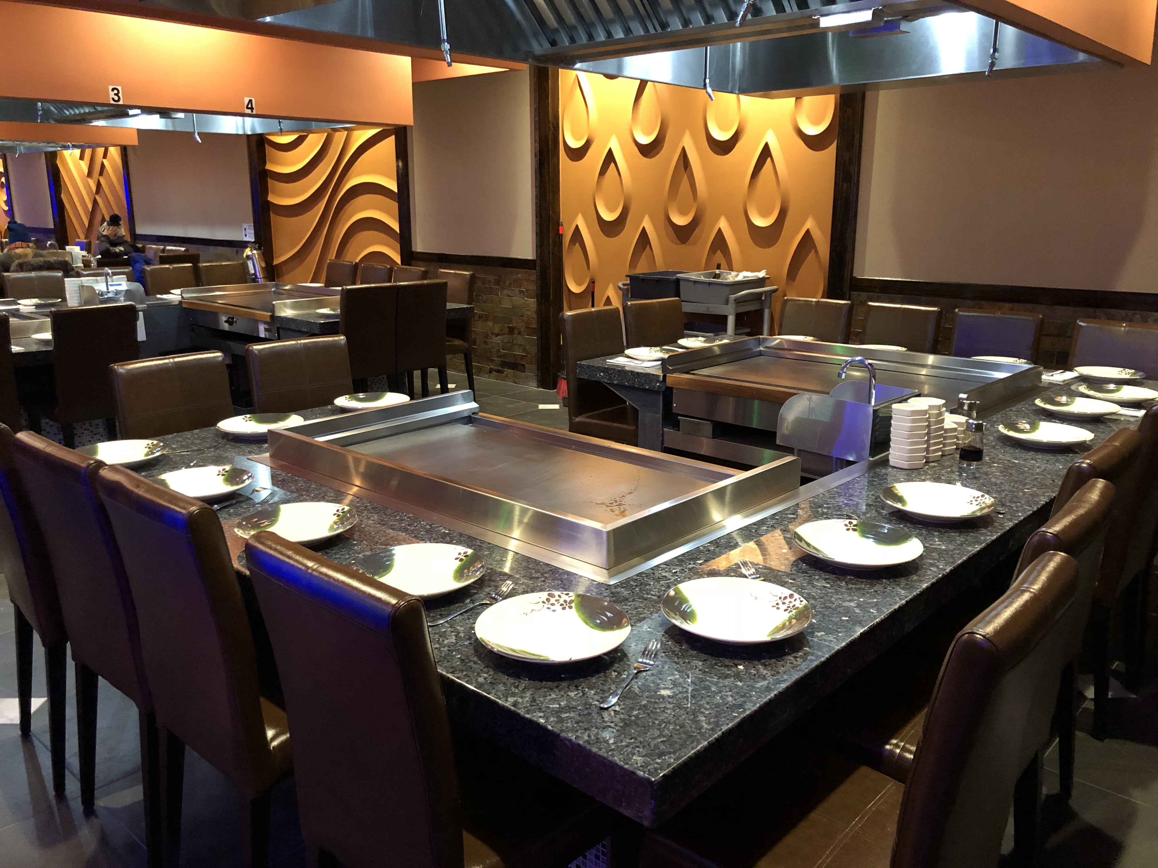 Book Your Party in OUR HIBACHI ROOM